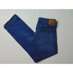 AE American Eagle 33x32 Extreme Flex Blue Jeans